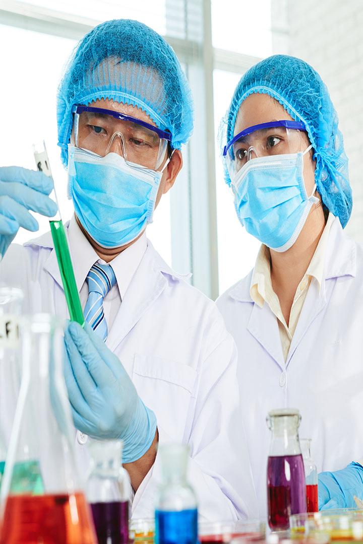 Teamwork at Modern Laboratory
